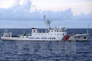 Tàu Trung Quốc tiến vào vùng tiếp giáp lãnh hải với Nhật Bản