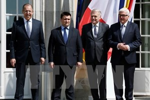 Nhóm Bộ tứ Normandy tìm cách thúc đẩy hòa bình ở miền Đông Ukraine