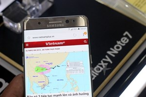 Jetstar cấm mang điện thoại Galaxy Note 7 lên tàu bay