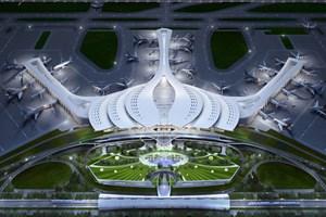 Nhà ga sân bay Long Thành sẽ mang hình bông sen cách điệu