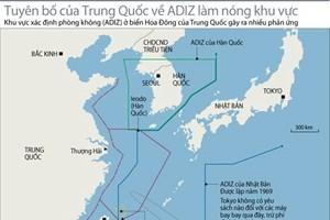 """Trung Quốc hy vọng Mỹ """"thấu hiểu và hợp tác"""" về ADIZ"""