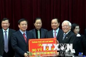 30 tỷ đồng giúp Điện Biên xây Bệnh viện đa khoa Mường Ảng