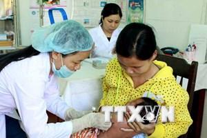 TP.HCM tổ chức tiêm bù vắcxin sởi cho trẻ từ 3 đến 10 tuổi