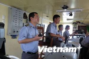 """Tổ quốc """"trên vai"""" người Thuyền trưởng tàu kiểm ngư KN-22"""