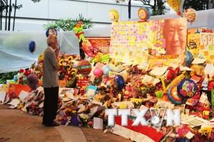 Đoàn Bộ Công an viếng và ghi sổ tang tưởng niệm ông Lý Quang Diệu