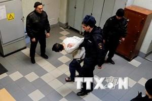 Vụ tấn công tàu điện ngầm tại Nga: Bắt giữ thêm 1 nghi can