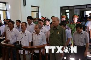 Sáng nay, bắt đầu xét xử vụ án sai phạm quản lý đất đai tại Đồng Tâm