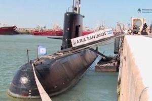 Hải quân Argentina lùng sục tàu ngầm mất tích ở độ sâu gần 1.000m