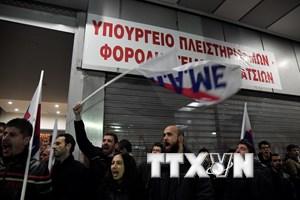 Đình công lớn tại Hy Lạp phản đối cải cách của chính phủ