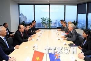 Thủ tướng gặp Thị trưởng thành phố thương mại lớn nhất New Zealand