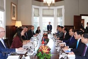 Thủ tướng Nguyễn Xuân Phúc hội đàm với Thủ tướng New Zealand Ardern