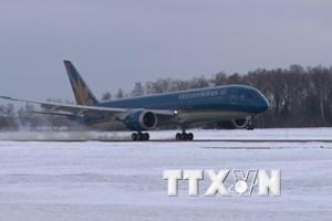Vietnam Airlines đánh dấu bước phát triển mới ở thị trường Nga