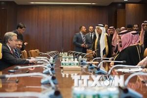 LHQ hối thúc Saudi Arabia tìm giải pháp giải quyết khủng hoảng Yemen