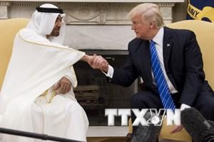 Lãnh đạo Mỹ và UAE nhất trí tìm kiếm sự gắn kết tại vùng Vịnh