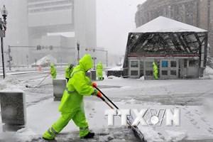 Các trận bão tuyết lớn hoành hành tại miền Trung nước Mỹ