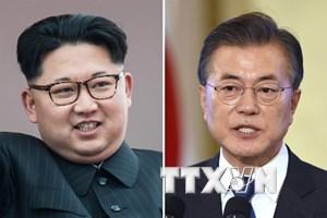 Ông Kim Jong-un tới Panmunjom dự Hội nghị thượng đỉnh liên Triều