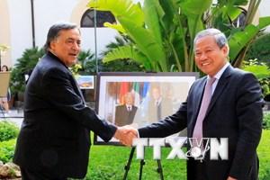 Quảng bá tiềm năng Việt Nam tại thành phố Palermo của Italy