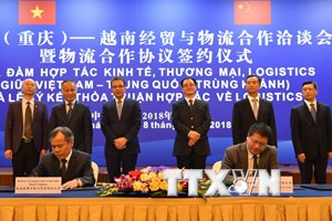 Cơ hội hợp tác lớn trong lĩnh vực logistics giữa Việt Nam-Trung Quốc