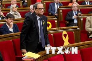 Tây Ban Nha: Chính quyền mới tại vùng Catalonia nhậm chức