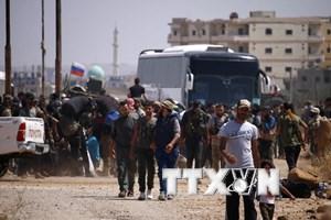 Syria: Phiến quân tại Daraa triển khai thỏa thuận với chính quyền