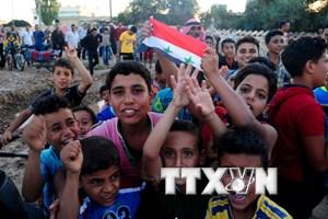 Các nhóm vũ trang đối lập Syria ký kết thỏa thuận ngừng bắn
