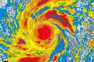 Siêu bão Haiyan lại đổ bộ miền Trung