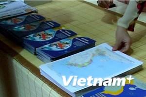 """Bản đồ Việt Nam được chú ý tại """"Không gian Việt"""" ở Hà Lan"""
