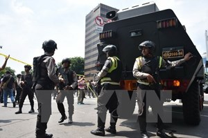 Điện chia buồn về vụ đánh bom khủng bố tại thủ đô Jarkata