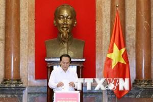 Văn phòng Trung ương Đảng và Chủ tịch nước ủng hộ đồng bào lũ lụt