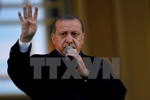 EP yêu cầu đình chỉ các cuộc đàm phán gia nhập EU của Thổ Nhĩ Kỳ