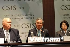 Việt Nam giới thiệu APEC 2017 tại Hội thảo cấu trúc khu vực châu Á