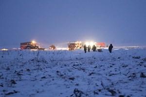 Nga hoàn tất công tác tìm kiếm nạn nhân vụ rơi máy bay An-148