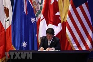 Nhật Bản ban hành một đạo luật thông qua hiệp định CPTPP