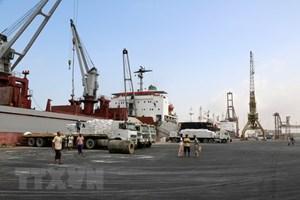 Houthi ra dấu sẵn sàng chuyển giao cảng Hodeidah cho LHQ