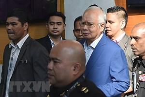 Cựu Thủ tướng Malaysia Najib Razak không nhận tội tham nhũng