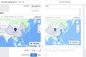Facebook đã ứng xử thế nào trước phản ứng về bản đồ Trường Sa?