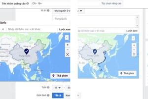 Facebook: 'Hoàng Sa, Trường Sa' sẽ không hiển thị thuộc Trung Quốc