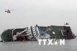 Trung Quốc thắng thầu trục vớt phà Sewol bị đắm của Hàn Quốc