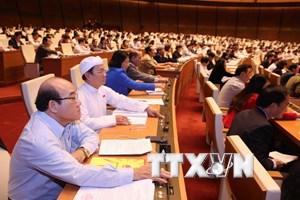 Quốc hội biểu quyết thông qua Bộ luật Tố tụng Dân sự sửa đổi