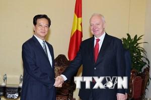 Đẩy mạnh hợp tác doanh nghiệp và giao lưu nhân dân Nga-Việt Nam
