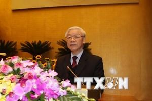 Lãnh đạo các nước gửi điện mừng Tổng Bí thư Nguyễn Phú Trọng
