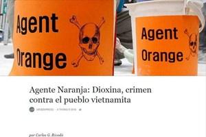 Báo Argentina nêu bật hậu quả tàn khốc của chất độc da cam ở Việt Nam