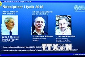 Nobel Vật lý 2016 khám phá ra những bí ẩn của vật chất đặc biệt