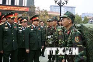 Không ngừng tăng cường tiềm lực, thế trận quốc phòng của đất nước