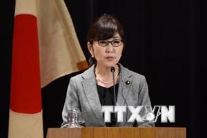 """Bộ trưởng Inada: Vấn đề """"phụ nữ mua vui"""" đã được giải quyết"""