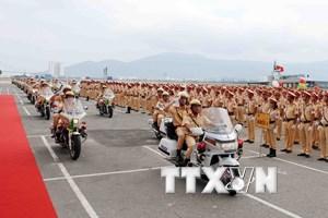 [Photo] Lễ ra quân bảo đảm trật tự giao thông phục vụ APEC 2017
