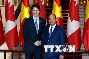 Tuyên bố chung về xác lập quan hệ Đối tác toàn diện Việt Nam-Canada