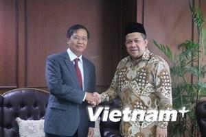 Indonesia luôn coi trọng tăng cường quan hệ hợp tác với Việt Nam