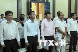 Tuyên án các bị cáo trong vụ án cố ý làm trái quy định tại Navibank