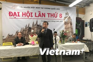 Đại hội lần thứ 8 Hội người Việt Nam tại Vương quốc Anh